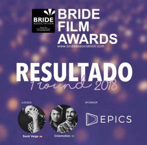 premio Bride Association, mejor video de boda